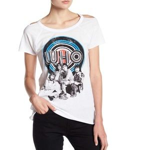 Chaser The Who Vintage Cold Shoulder T-shirt